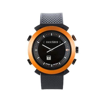 COGITO Classic Silicon Smart Watch (Black Strap) Price in India