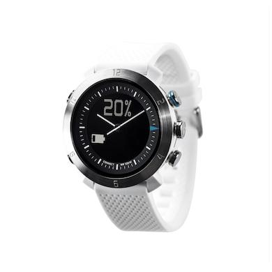 COGITO Classic Silicon Smart Watch (White Strap) Price in India