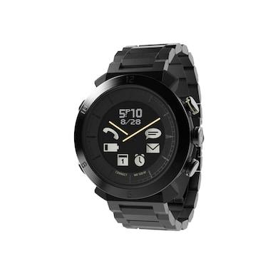 COGITO Classic Smart Watch Metal (Black Strap) Price in India