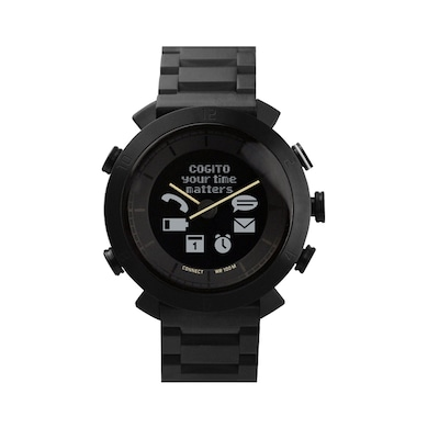 COGITO Classic Smartwatch Metal Black Price in India