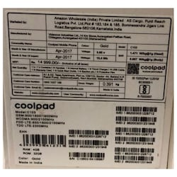 Coolpad Cool 1 4G VoLTE (4 GB RAM, 32 GB) Gold images, Buy Coolpad Cool 1 4G VoLTE (4 GB RAM, 32 GB) Gold online at price Rs. 10,249