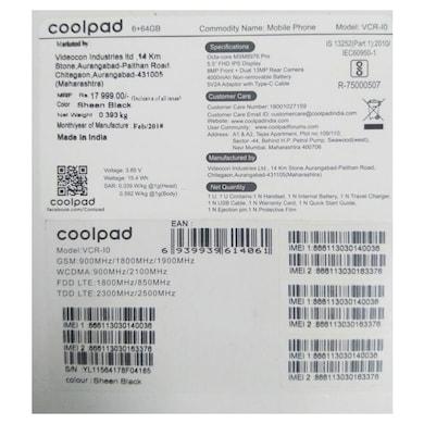 Coolpad Cool Play 6 (6 GB RAM, 64 GB)