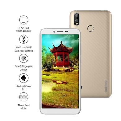 Unboxed Coolpad Mega 5 (Champagne Gold, 3GB RAM, 32GB) Price in India