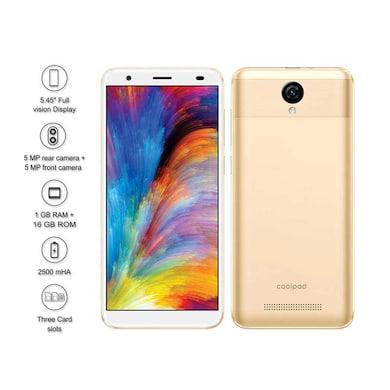 Coolpad Mega 5C (Gold, 1GB RAM, 16GB) Price in India
