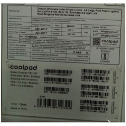 Coolpad Note 3S (3 GB RAM, 32 GB) Gold images, Buy Coolpad Note 3S (3 GB RAM, 32 GB) Gold online at price Rs. 7,650