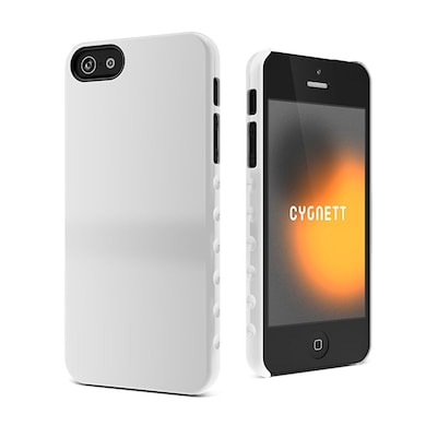 225ea23c60 Cygnett CY0832CPAEG Aerogrip White Form Slim Hard Case For Iphone 5/5S  White Price in