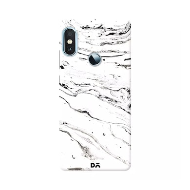 DailyObjects 6 Feet Under White Marble Case Cover For Xiaomi Redmi Note 5 Pro Multicolor Price in India