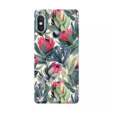DailyObjects A Painted Protea Pattern Case Cover For Xiaomi Redmi Note 5 Pro Multicolor Price in India