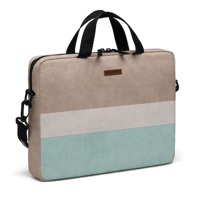 DailyObjects Beach Classic City Compact Messenger Bag For Up To 15.5 Inch Laptop Or Macbook Multicolor Price in India