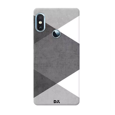 DailyObjects Black and White Triangles Case Cover For Xiaomi Redmi Note 5 Pro Multicolor Price in India