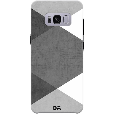 DailyObjects Black and White Triangles Case For Samsung Galaxy S8 Multicolor Price in India