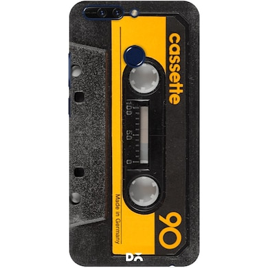 best loved 04fa6 9b477 DailyObjects Cassette Yellow Case Cover For Huawei Honor 8 Pro