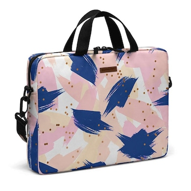 DailyObjects Complicated Lover City Compact Messenger Bag For Up To 14 Inch Laptop Or Macbook Multicolor Price in India