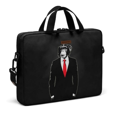 94ca43360e0d DailyObjects Domesticated Monkey City Compact Messenger Bag For Up To 15.5  Inch Laptop Or Macbook Multicolor ...