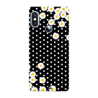 DailyObjects Dots And daisy Case Cover For Xiaomi Redmi Note 5 Pro Multicolor Price in India