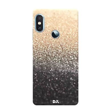 Dailyobjects Gatsby Gold Black Case Cover For Xiaomi Redmi Note 5