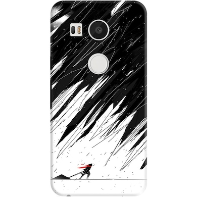 reputable site ec172 788f3 DailyObjects Geometric Storm Case For LG Google Nexus 5X Multicolor ...