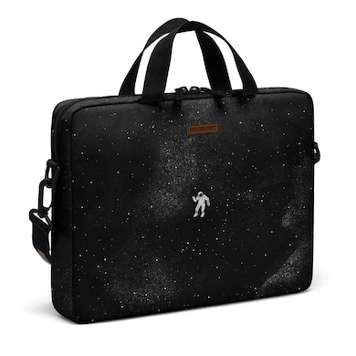 DailyObjects Gravity City Compact Messenger Bag For Up To 14 Inch Laptop Or Macbook Multicolor Price in India