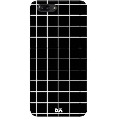 DailyObjects Grid Black Case Cover For Huawei Honor V10 Multicolor Price in India