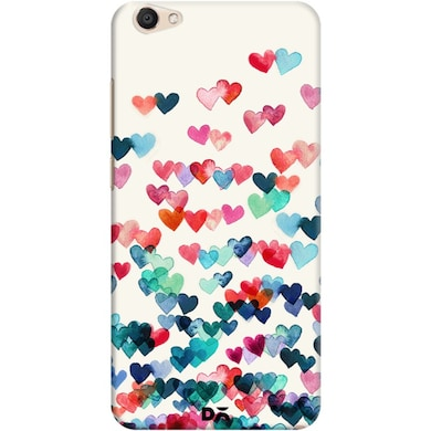 quality design e1aae f3421 DailyObjects Heart Connections Case For Vivo V5