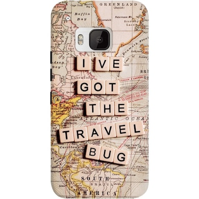 DailyObjects I Have Got The Travel Bug Case For HTC One M9