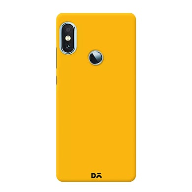 DailyObjects Mimosa Yellow Case Cover For Xiaomi Redmi Note 5 Pro Yellow Price in India