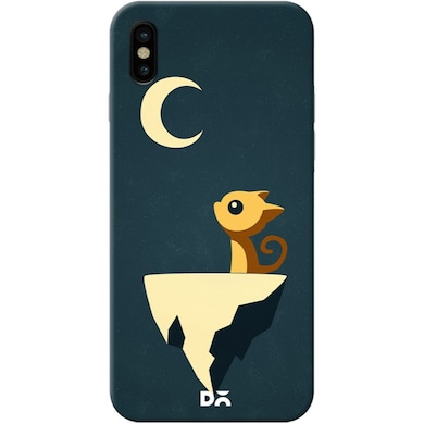 best sneakers 10c1e 00f36 DailyObjects Moon Cat Case Cover For iPhone X