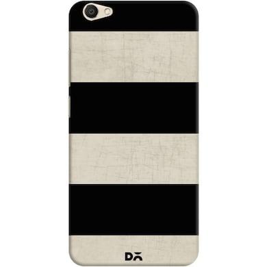DailyObjects Vintage Black Stripes Case For Vivo V5 Multicolor Price in India
