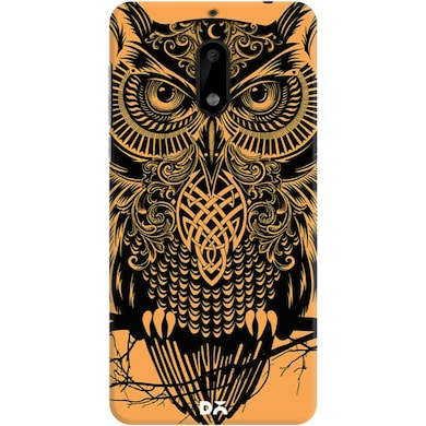 DailyObjects Warrior Owl Case For Nokia 6 Multicolor Price in India
