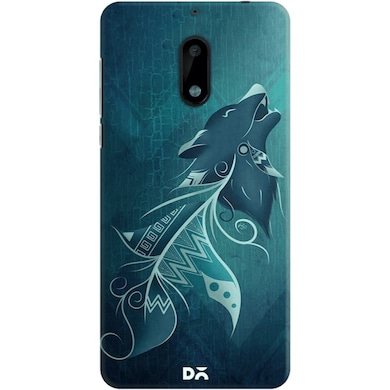 DailyObjects Wolfeather Tribe Case For Nokia 6 Multicolor Price in India