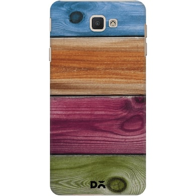 on sale e69bd b5b2e DailyObjects Wooden Rainbow Case Cover For Samsung Galaxy J7 Prime
