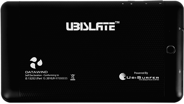 Datawind UbiSlate 7C+ Tablet Black, 4 GB Price in India