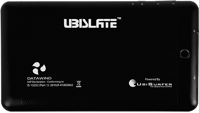 Datawind Ubislate 7CZ Tablet (Single Sim) Black, 4 GB Price in India