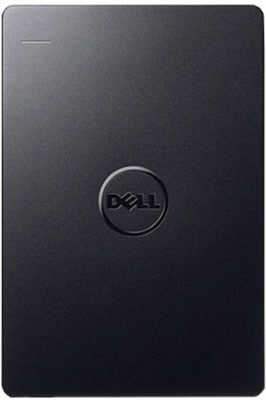 Dell Backup Plus 1 TB Portable External Hard Drive Black Price in India