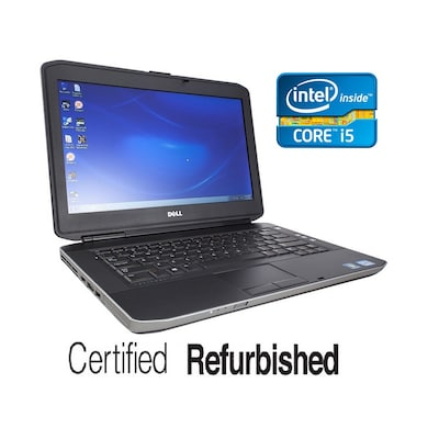 Refurbished Dell Latitude E5430 14 Inch Laptop (Core i5 3rd Gen/4GB/320GB/Win 7) Black Price in India