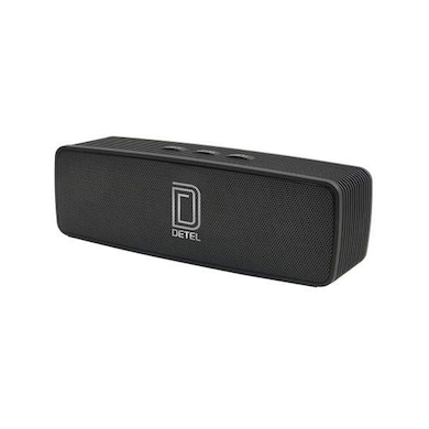 Detel Carvan (DBS-30) Bluetooth Speaker Black Price in India