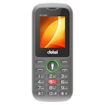 Buy Detel D1 Vibe, Dual Sim, Camera, Wireless FM,Torch and Bluetooth Black and Green Online