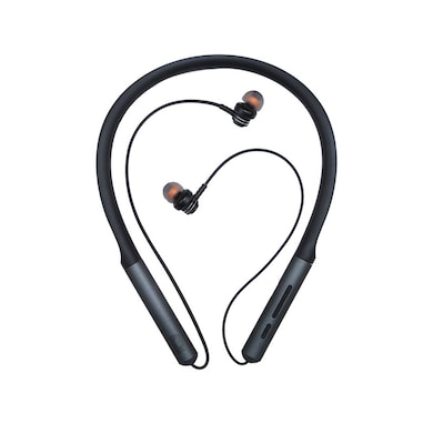 Detel DBT-99 Neckband Bluetooth Wireless in-Ear Headphones with mic Black Price in India