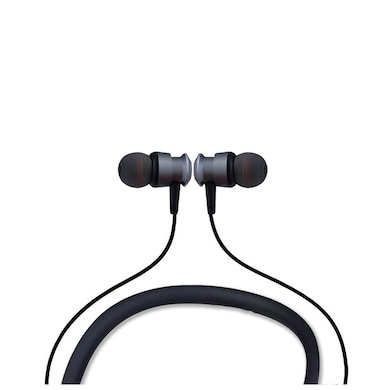 Detel DBT-99 Neckband Bluetooth Wireless in-Ear Headphones with mic Grey Price in India