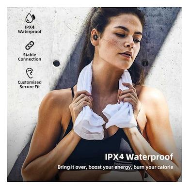 Detel Di-Pod True Wireless Earbuds, Google Assistant/Siri,IPX4 Waterproof Black Price in India