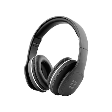 Detel Harmony Wireless Bluetooth with Mic, Voice Assistant Integration, Hands-Free Calling Black Price in India