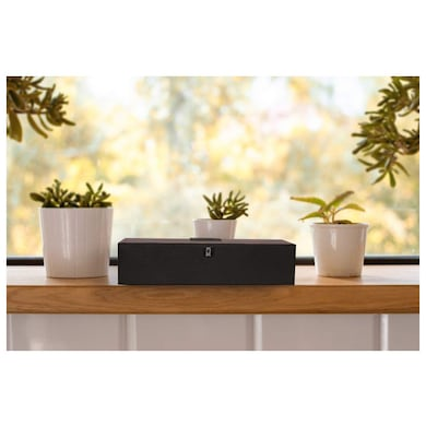 Detel Posh Portable Wireless Bluetooth Speaker-USB,Micro SD Card,FM,AUX Wooden Texture Price in India