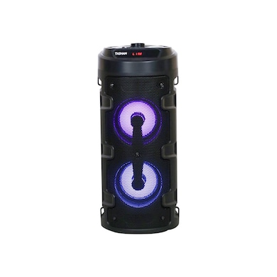 Detel Tashan Bluetooth Speaker, Light Shows and Mic/Guitar inputs Black Price in India