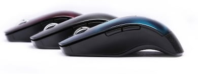 DGB Curve 3D Wireless Optical Mouse Blue Price in India