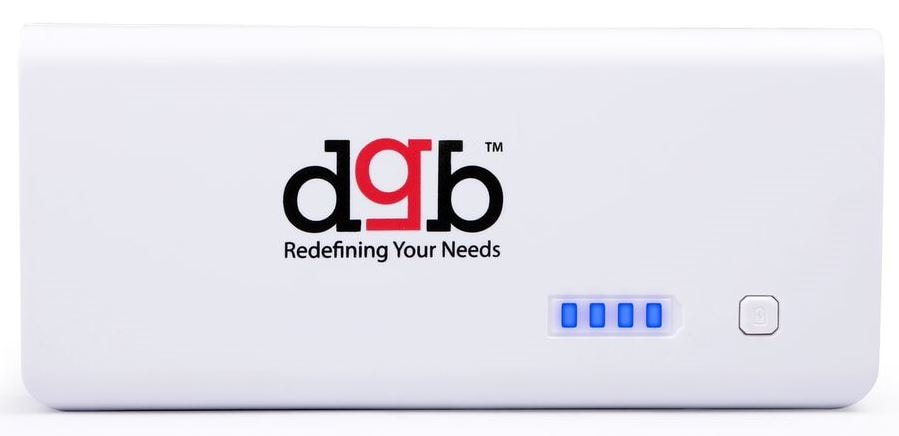 Buy DGB Haflinger Duos PB-13000 Power Bank 11000mAh with Torch White online