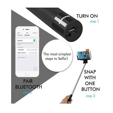 DGB i-Click Bluetooth Selfie Stick Black Price in India
