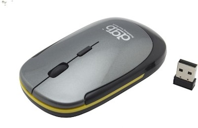 DGB Jeune X-5 Notebook Slim Mouse Grey Price in India