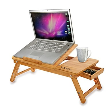 DGB Jumbo Value Plus Cooling Laptop Table Wooden Price in India