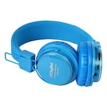 Buy Digitek DBH 001 Bluetooth Headset (Blue, Over the Ear) Online