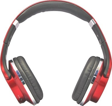 Digitek DBHS 001 Bluetooth Headset (Red, Over the Ear) Price in India